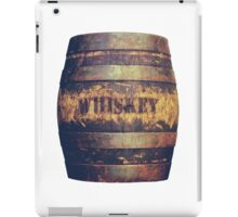 Rustic American Whiskey Barrel iPad Case/Skin