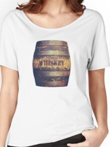 Rustic American Whiskey Barrel Women's Relaxed Fit T-Shirt