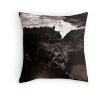 Rock Pool 01 Throw Pillow