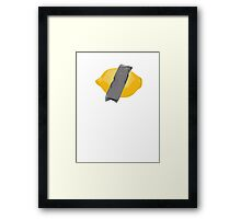 The Lemon is in Play Framed Print