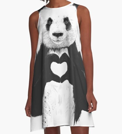 All you need is love A-Line Dress