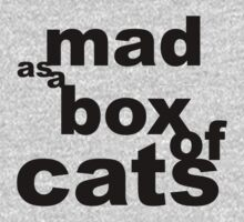 mad as a box Baby Tee