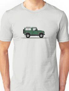 A Graphical Interpretation of the Defender 90 Station Wagon NAS Unisex T-Shirt
