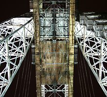 Under TheTransporter Bridge  by Sarah Matthews