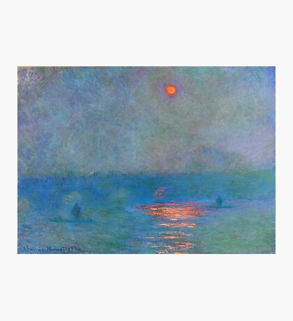 Claude Monet - Houses Of Parliament, Effect Of Sunlight In The Fog (1899-1901) Photographic Print