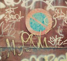 Stationnement Interdit Tag by MoiMM