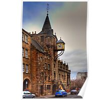 The Tolbooth at the Canongate Poster