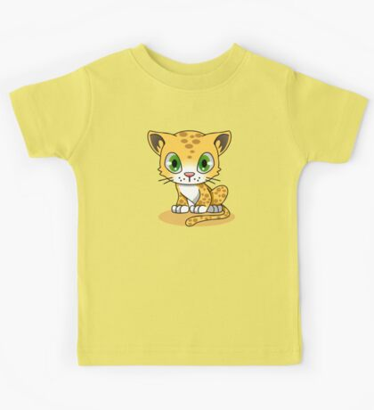 Cute Funny Cartoon Silly Pussy Cat Character Doodle Kitten Drawing Kids Tee
