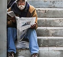 Catching Up On the News by heatherfriedman