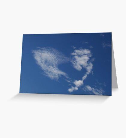 Cloudheart Greeting Card