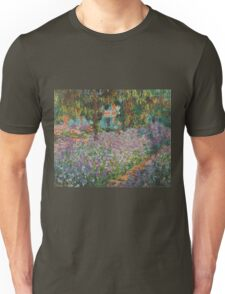 Claude Monet - Irises In Monet S Garden 03 Unisex T-Shirt