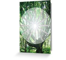 12 of Wands Greeting Card