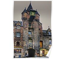Canongate Tolbooth Poster