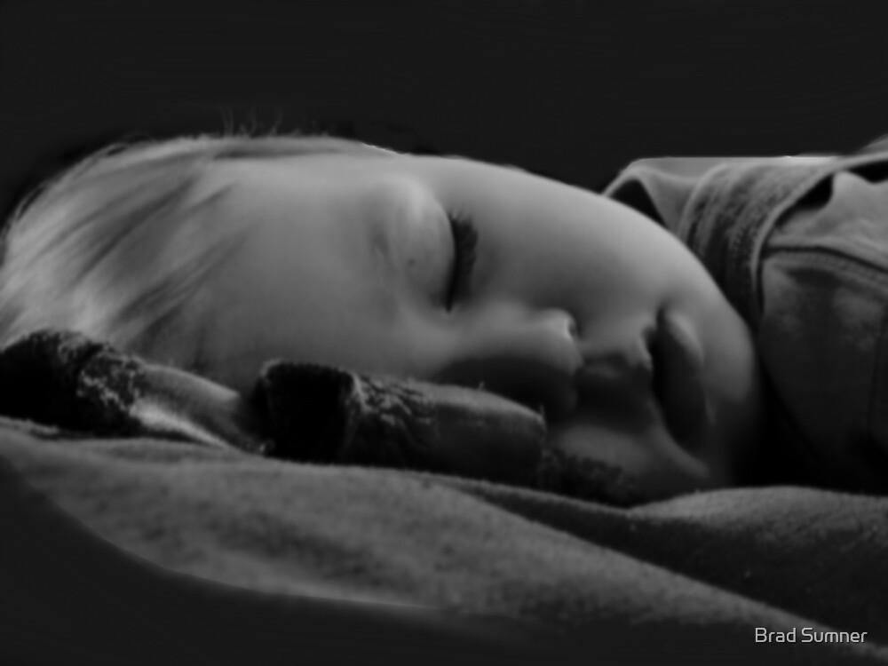Baby Sleeping by Brad Sumner