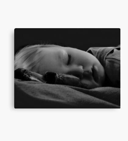 Baby Sleeping Canvas Print