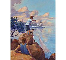 Chasin' Bait -Manly Qld Photographic Print