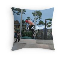 Catching Air Throw Pillow
