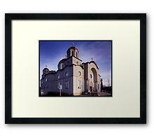 Lebonese Church Framed Print