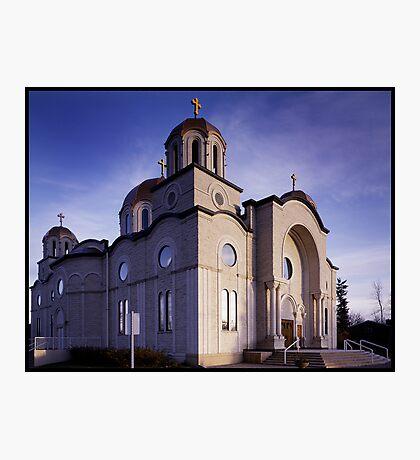 Lebonese Church Photographic Print