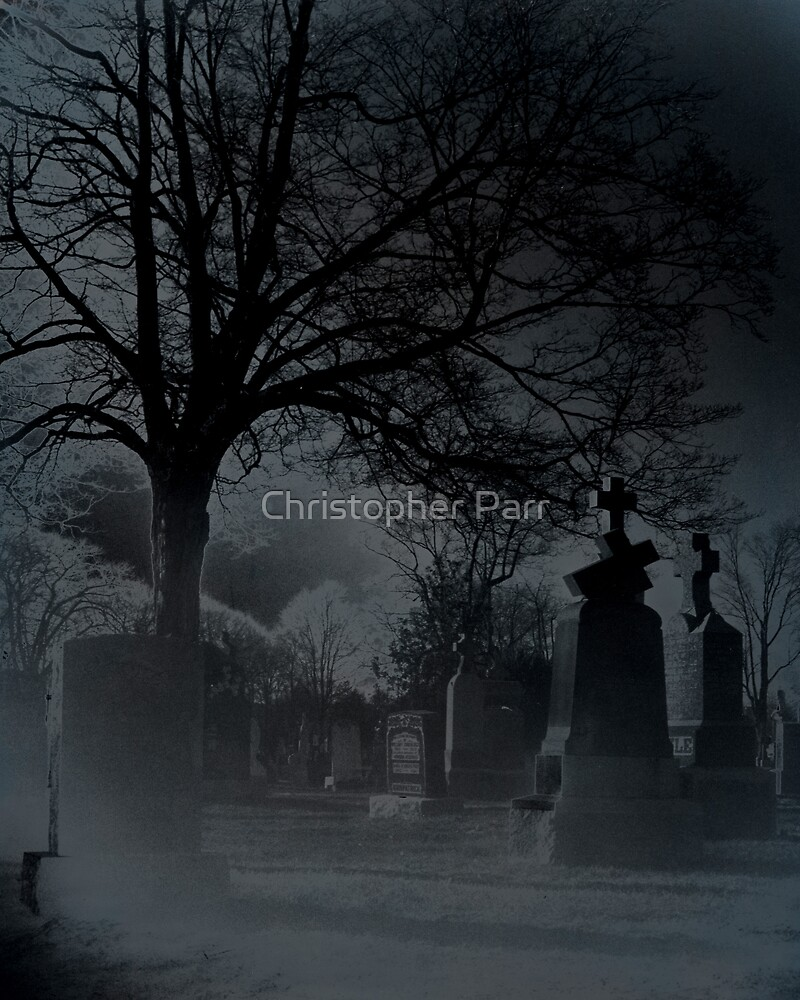 Eerie Graveyard by Christopher Parr