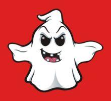 Mean Ghost - Gappy Smile Kids Tee