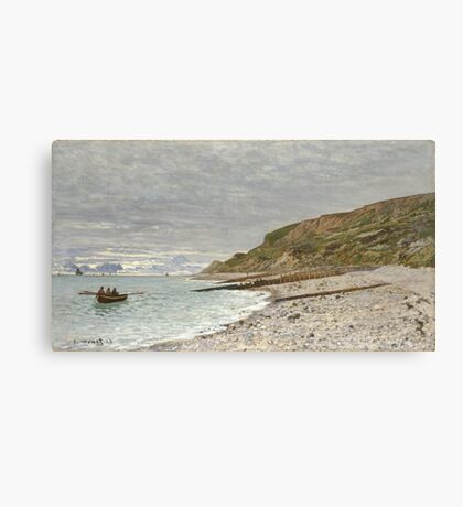 Claude Monet - La Pointe De La Heve, Sainte-Adresse Canvas Print