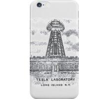 Tesla Lab iPhone Case/Skin