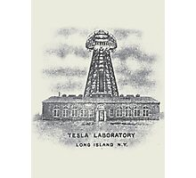 Tesla Lab Photographic Print