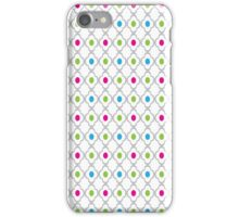 Quatrefoil and Dots iPhone Case/Skin