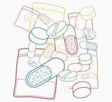 Pills 1 by Bizarro Art