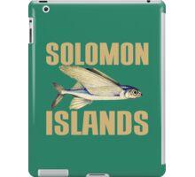 FLYING FISH (SOLOMON ISLANDS)-2 iPad Case/Skin