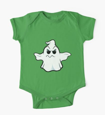 Mean Ghost - Wobbly Mouth One Piece - Short Sleeve