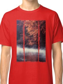 Nature*s Mirror - Fall at the River Classic T-Shirt