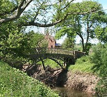 Cast iron bridge by Sue Hammond