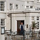 Grand Old Hotel ~ Sidmouth by Susie Peek