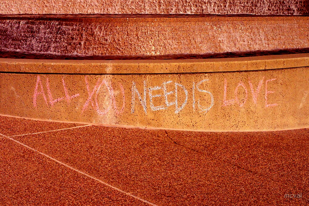 All you need is love... by mcval