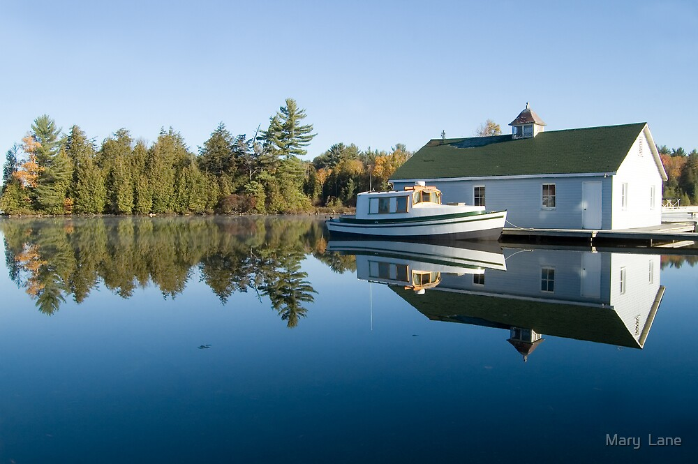 Cottage Country by Mary  Lane