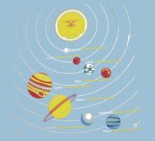 solar system One Piece - Short Sleeve