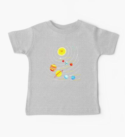 solar system Baby Tee