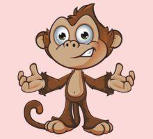 Cheeky Monkey - Confused Kids Tee