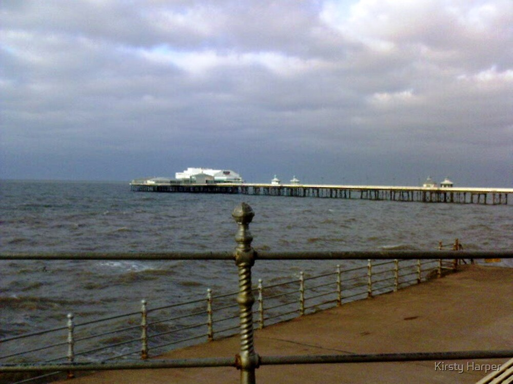 Blackpool Pier by Kirsty Harper