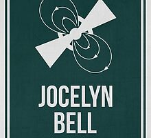 JOCELYN BELL BURNELL - Women in Science Collection by Hydrogene