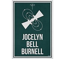 JOCELYN BELL BURNELL - Women in Science Wall Art Photographic Print