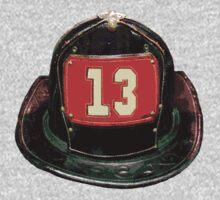 Ladder 13 - Helmet (FDNY Style) by ianscott76