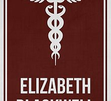 ELIZABETH BLACKWELL - Women in Science Collection by Hydrogene