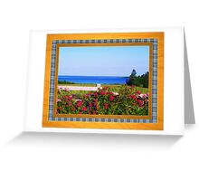 Flower Lovers Greeting Card