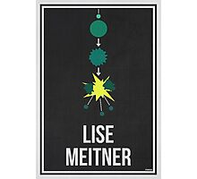 LISE MEITNER - Women in Science Wall Art Photographic Print