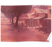 Thursday Island Street Scene Poster