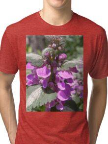 Pretty in Purple Tri-blend T-Shirt