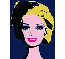 Barbie Monroe Warhol style Photographic Print